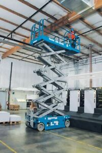 2013 Genie Gs 3246 Scissor Lift 71hrs