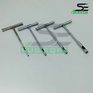 Hollow Mill For Removal Of Bone Screws Extractor 4 Pcs Orthopedics Instruments