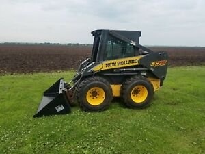 New Holland L175 Skidloader High Flow 1900 Hours