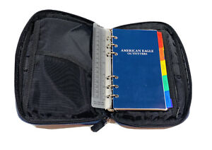 Nwt American Eagle Blue Classic Zip Small Planner Binder 9 x6 New