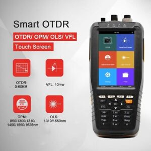 1310 1550nm Otdr Optical Time Domain Reflectometer Vfl Opm Ols W Touch Screen