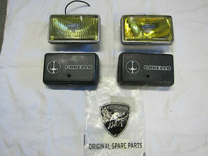 Lamborghini Countach Fog Lights Jod Carello Yellow With Carello Covers
