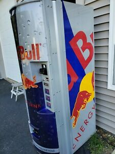 Royal Vendors Red Bull 372 8 4oz Energy Drink Vending Machine Made In Usa