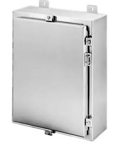 Hoffman Stainless Steel Enclosure A16h1208ss6lp Model 83600