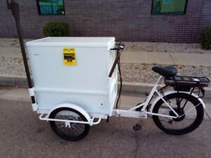 Ice Cream E Bike W assist Motor And Freezer 3 499