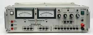 Tdi Power Dynaload Dlvp50 120 1500 Electronic Dc Power Load 0 50v 0 120a 1500w