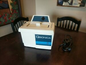 Qsonica 2510r mt Ultrasonic Cleaner With Basket