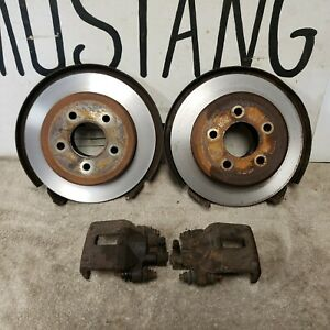 5 Lug Rear Disc Brake Conversion Kit 9 Inch Ford Mustang F150