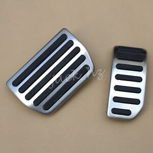 Automatic No Drill Steel Gas Brake Pedal Pad Cover For Volvo S60 v60 xc60 s80