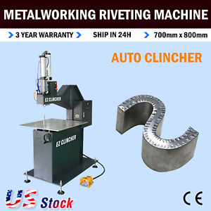 Automatic Clincher Metalworking Riveting Machine For Metal Channel Letter Making
