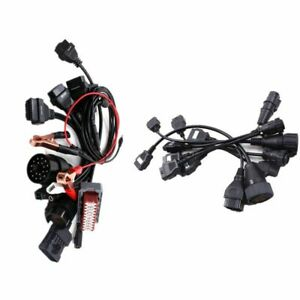 Obd2 Cables Full Set 8pcs Car Cables For Car For Vd Tcs Cdp Pro Plus Cable Kit