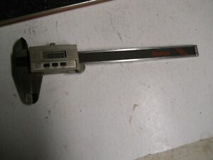 Starrett 721 Electronic Digital Calipers 0 6 150mm Used