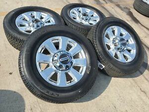 20 Ford F 350 F 250 2020 Platinum Oem Rims Wheels Tires 2017 2018 2019 10103