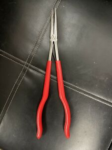 Snap On Tools 14 5 Long Reach Needle Nose Pliers 915cp