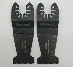 Rockwell Sonicrafter Oscillating Multitool End Cut Blades rw8981k 6 pack