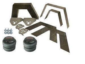 Rear Universal Weld On 8 Frame Step Notch Airbag Kit Airmaxxx 2500 Bags Bracket