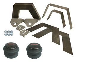 Rear Universal Weld On 8 Frame Step Notch Airbag Kit Airmaxxx 2600 Bags Bracket