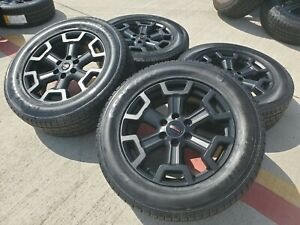 20 Nissan Titan Xd Oem Black Wheels Rims Tire Oe 62727 2017 2018 2019 2020 2021
