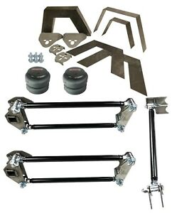 Airmaxxx Rear Universal Weld On Kit 8 Frame Notch Parallel 4 Link Bags Brackets