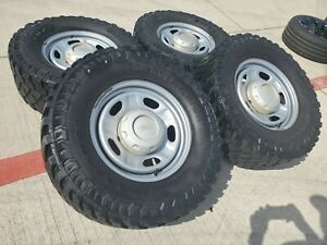 17 Ford F 250 F 350 Oem Rims Wheels Tires Steel 3828 2016 2017 2018 2019 2020
