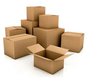 Pick Qty 10x6x6 Cardboard Box Shipping Mailing Moving Cartons Corrugated Boxes