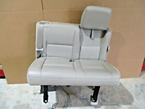 2007 2014 Ford Expedition El Left 3rd Third Row Tan Leather Seat Power W Motor