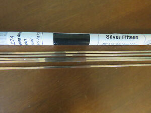 Silver Brazing Alloy Rods 27 Rods Grainger 30ac74