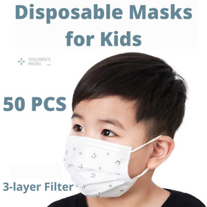 50 Pcs Face Masks For Kids Respiratory Protective Made In Korea