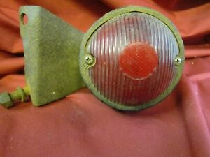 Vintage Truck Tail Light With Mounting Bracket Good For That Rat Rod Look Stock