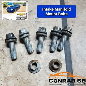 intake Manifold Mounting Bolt Set For 2005 2007 Chevrolet Cobalt Lsj 2 0 Oem