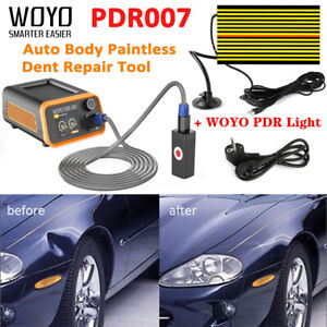 Woyo Pdr007 Auto Body Paintless Dent Repair Tool Led Pdr Light 220 240v Us Eu