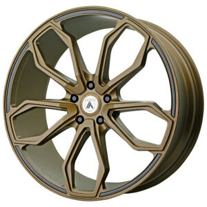 22 Asanti Black Athena Bronze abl19 22905232br Set Of 4 Wheels Rims