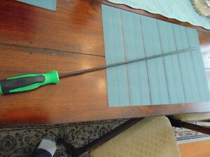 Snap On Tools Extra Long 2 Philips 24 Cabinet Screwdriver Soft Green Handle