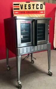 Blodgett zephaire 200 e Full size Bakery Depth Electric Convection Baking Oven