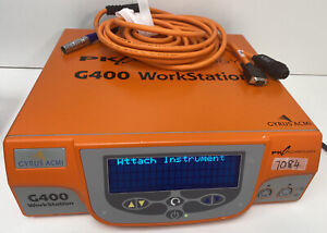 Acmi Gyrus G400 Workstation Rf Generator Esu With Accessory Cord