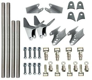 Triangulated 4 Link Kit Universal Weld On Car Truck 1 25 Dom Tube Lh And Rh End