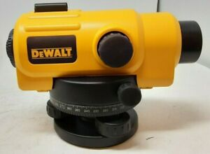 Dewalt Dw096pk 26x Automatic Optical Level With Carrying Case