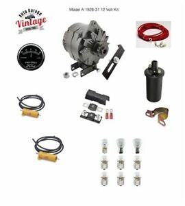 1928 1931 Ford Model A 6 To 12 Volt Conversion Parts