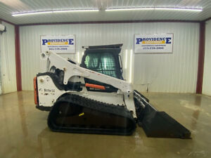 2013 Bobcat T770 Track Skid Steer Cab With A c Heat