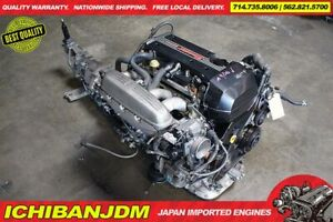 Jdm Toyota 3s Ge Beams Dual Vvti Engine 6 Speed Rwd Transmission Altezza Is300