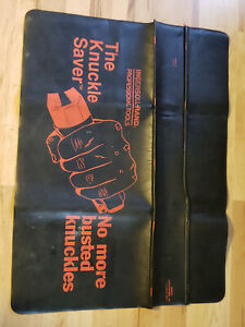 Vintage Ingersoll Rand Mechanic Fender Cover Protector Pad Mat