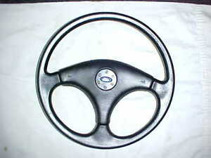 1984 1986 Ford Mustang Gt Wrapped Steering Wheel W o Cruise Foxbody Svo Style