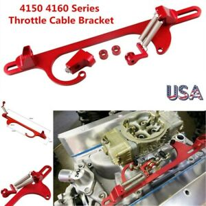 Aluminum 4150 4160 Series Throttle Cable Carb Bracket Carburetor 350 For Holley