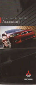 2008 08 Mitsubishi Lancer Accessories Original Brochure $4.99
