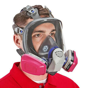 3m Ff 403 Ultimate Fx Full Face Respirator 1 Pr 60921 Ov p1oo Cartridge Large