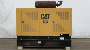 Caterpillar 250 Kw Diesel Generator Cat 3306b Engine 599 Hrs Yr 00 Csdg 2724