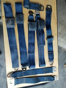 1968 1969 Dodge Charger Blue Seat Belt B body Plymouth Gtx Coronet Belvidere