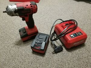 Snap On Ct8810 18 Volt 3 8 Drive Monsterlithium Impact Wrench Kit 2 Bat