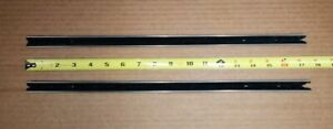 Nos Gm 61 62 Chevy Impala Olds Sport Coupe Vent Window Division Channel Pair