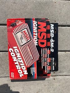 Msd 6m 2 Msd Ignition Part 6420 Never Used New In Box